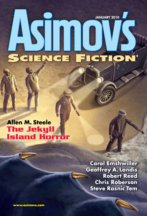 Asimov's Science Fiction, ianuarie 2010